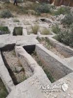 دخمههای باستانی بندر سیراف