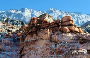 کوههای نمکی جاشَک
