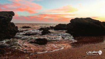 ساحل جزیره هُرمز