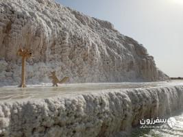 آبشار نمکی خور