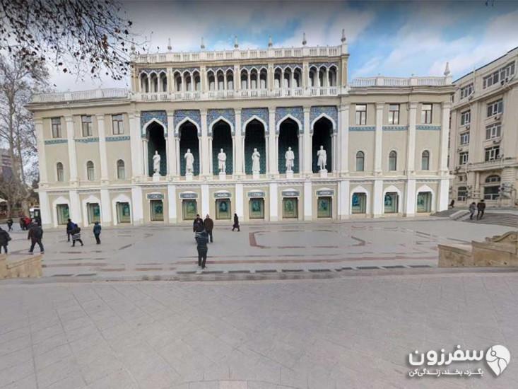 موزه ادبیات نظامی گنجوی