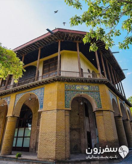 کاخ موزه چهلستون (موزه خوشنویسی، عمارت کلاه فرنگی)