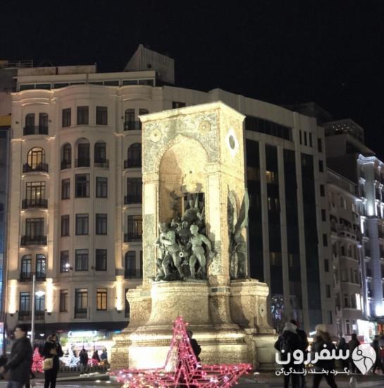 میدان تقسیم و بنای یادبود جمهوری