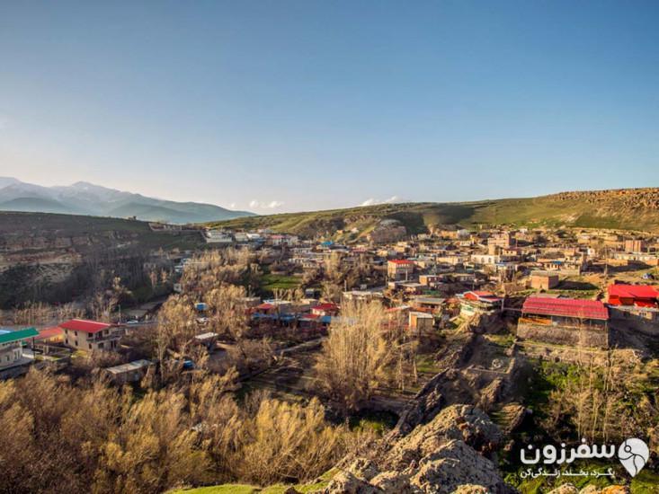 روستای بیله درق یا ویلا دره