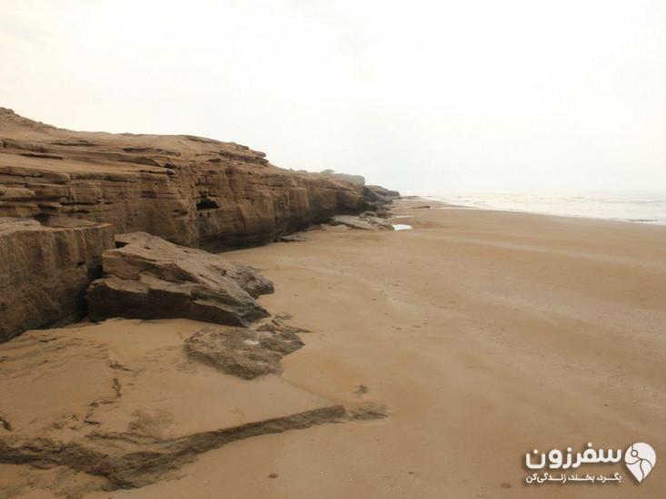 ساحل صخرهای مالقاید
