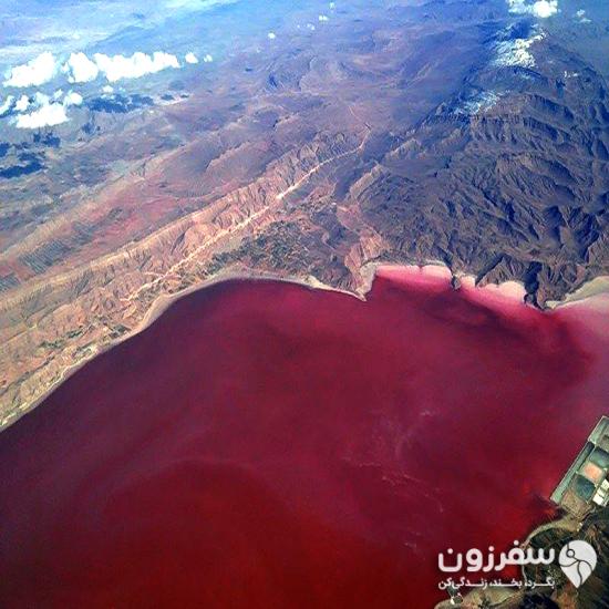 تالاب یا دریاچه صورتی لیپار