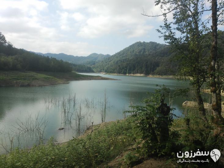 دریاچه سد میجران