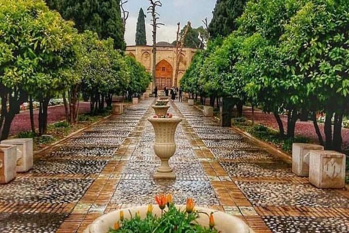 باغ جهان نما شیراز جاهای دیدنی شیراز کجاست