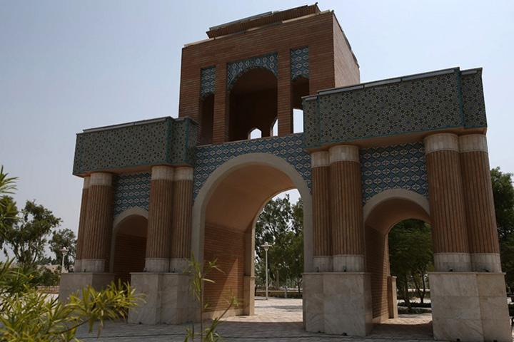 باغ راه ایرانی | جاذبه های گردشگری کیش