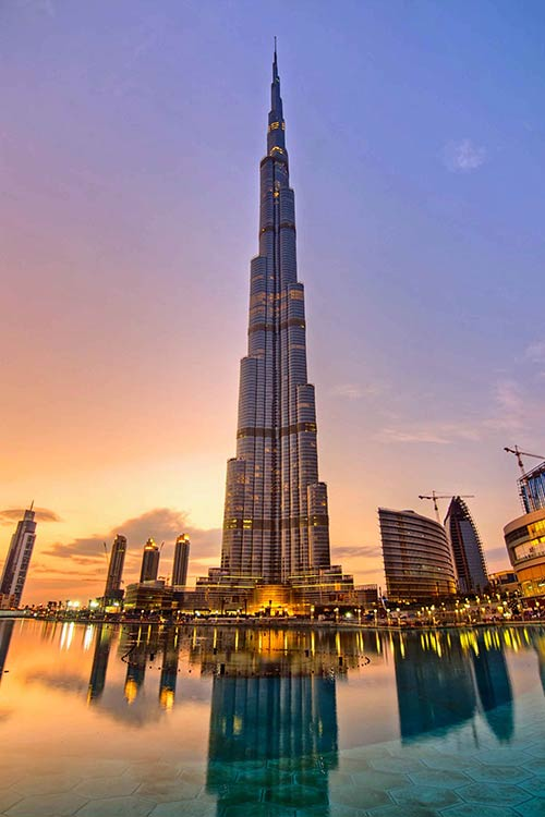 جاهای دیدنی دبی و لذت تفریح در یک شهر مدرن برج خلیفه| بلندترین ساختمان جهان