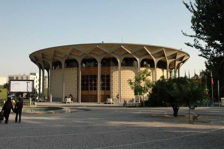 تئاتر شهر| از زیباترین سالنهای تئاتر ایران