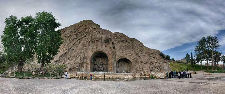 طاق بستان| از جاذبههای دیدنی کرمانشاه