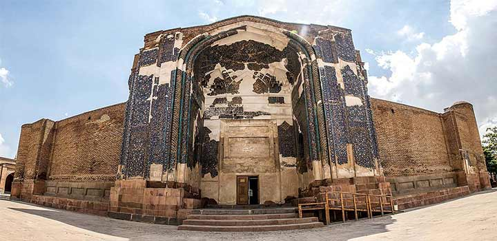 مسجد کبود| از آثار استثنایی دورهی اسلامی در تبریز | سفر به تبریز