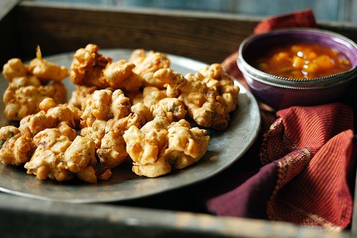 پاکوره یک غذاهای هندی | غذاهای خوشمزه آبادان