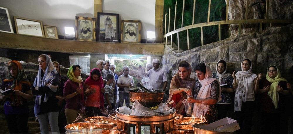 مراسم زرتشتیان| زیارتگاه چکچک یزد