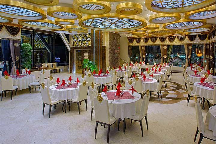 رستوران الماس | رستوران های معروف مشهد