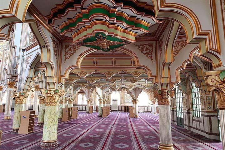 مسجد شافعیها | جاهای دیدنی کرمانشاه