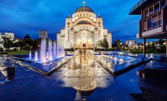 شکوه معماری کلیسای سنت ساوا خیرهکننده است