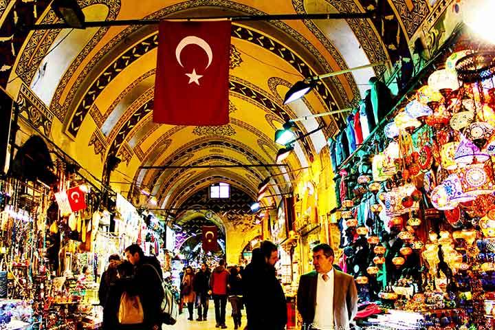 خریدگردی ارزان در استانبول - بازار بزرگ