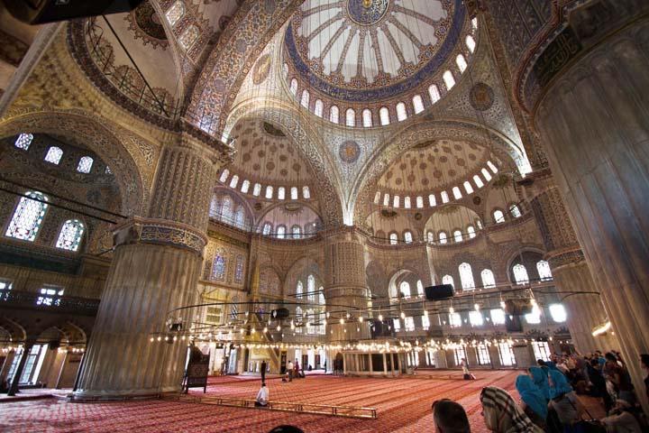 در سفر به استانبول مسجد آبی را از دست ندهید