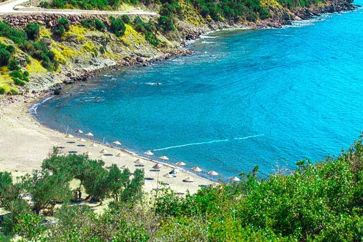 Mavi Koy ساحل و طبیعت ازمیر در کنار هم