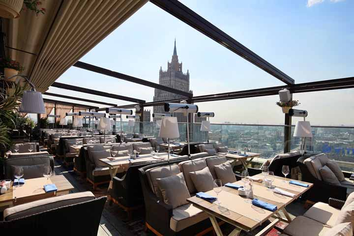 بهترین رستوران های مسکو و هتلهای گران و افسانهای آن ۱