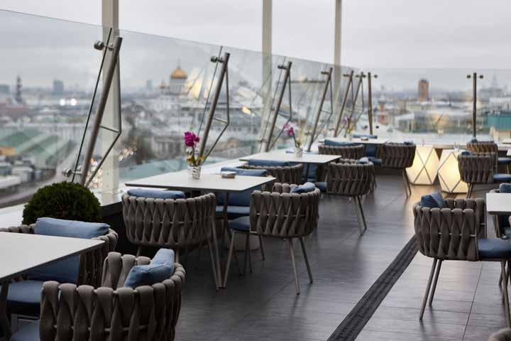 بهترین رستوران های مسکو و هتلهای گران و افسانهای آن ۲