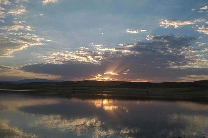 دریاچه پری (خندقلو) | جاهای دیدنی زنجان