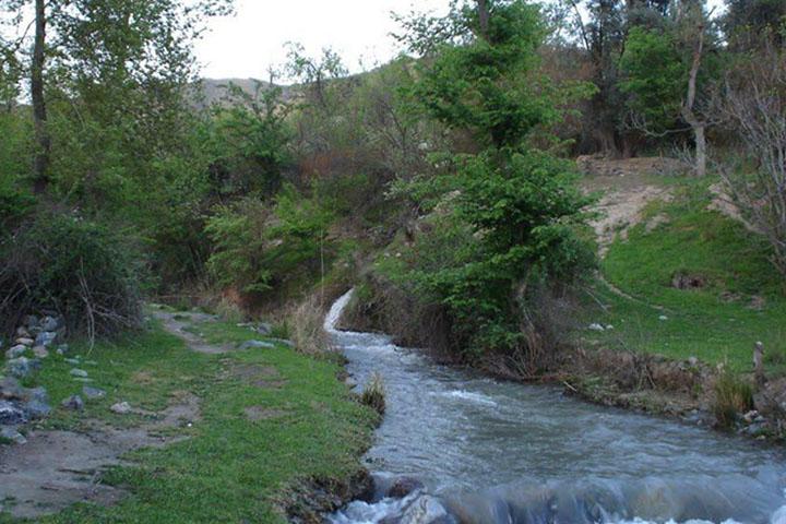 رودخانه قزل اوزن | جاهای دیدنی زنجان
