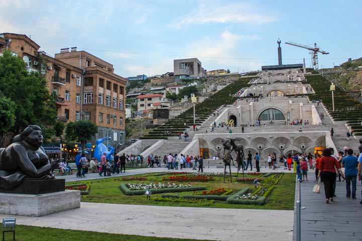 کاسکاد | بزرگترین نمادی که پس از فروپاشی شوروی در ارمنستان ساخته شد