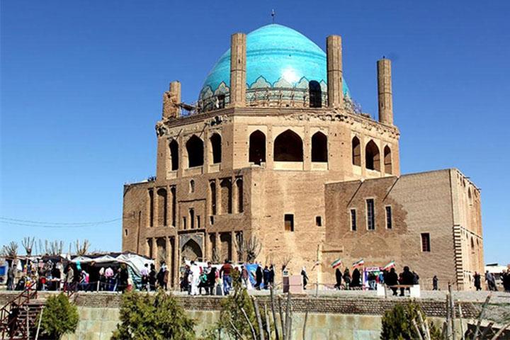 گنبد سلطانیه | جاهای دیدنی زنجان