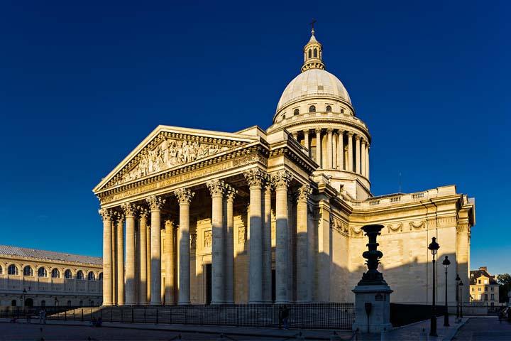 Panthéon جایگاهی برای پادشاهان، نویسندگان و فیلسوفان