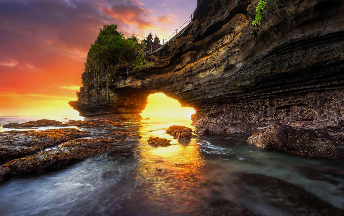 ۱۰تا از جاهای دیدنی بالی که نباید از دست داد