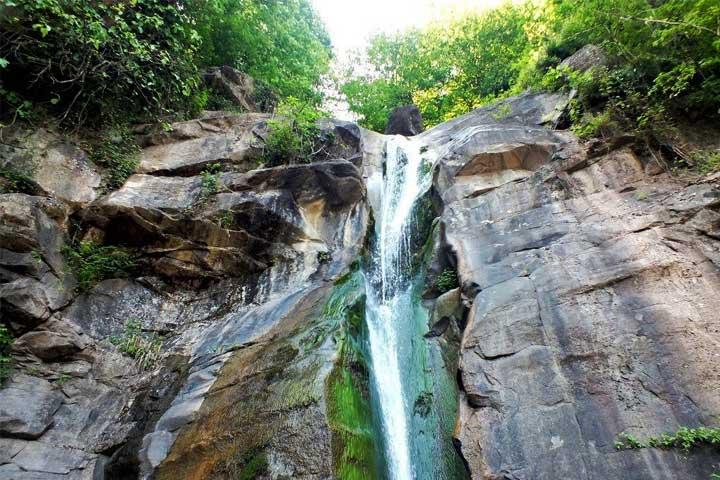 آبشار صفارود | از مکان های دیدنی رامسر