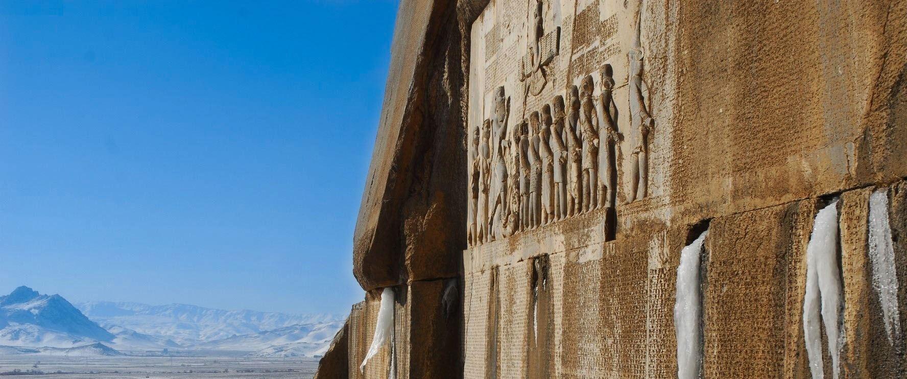 بیستون کرمانشاه ، راز و رمز با ارزشترین آثار تاریخی ایران