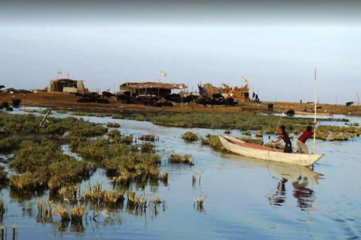 تالاب هور العظیم | جاهای دیدنی خوزستان
