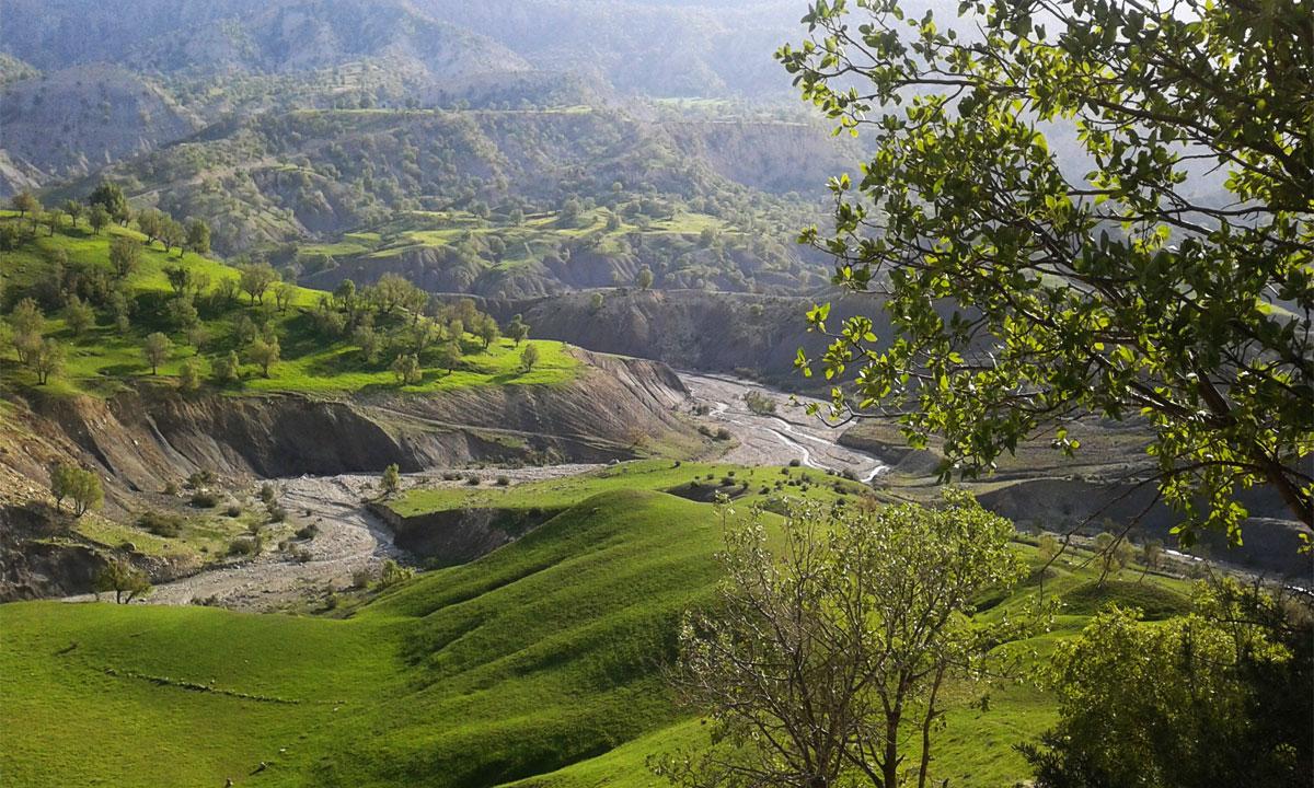 جاهای دیدنی ایلام ؛ شهر کوهستان های سبز