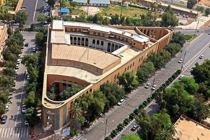 دانشگاه سه گوش اهواز | جاهای دیدنی خوزستان