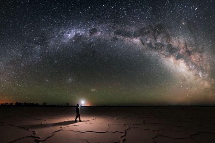 رصد ستارگان | کویر ابوزید آباد