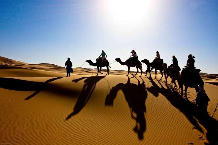روستای مصر در جوار کویر ۱