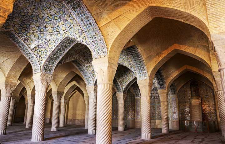 معماری مسجد وکیل شیراز