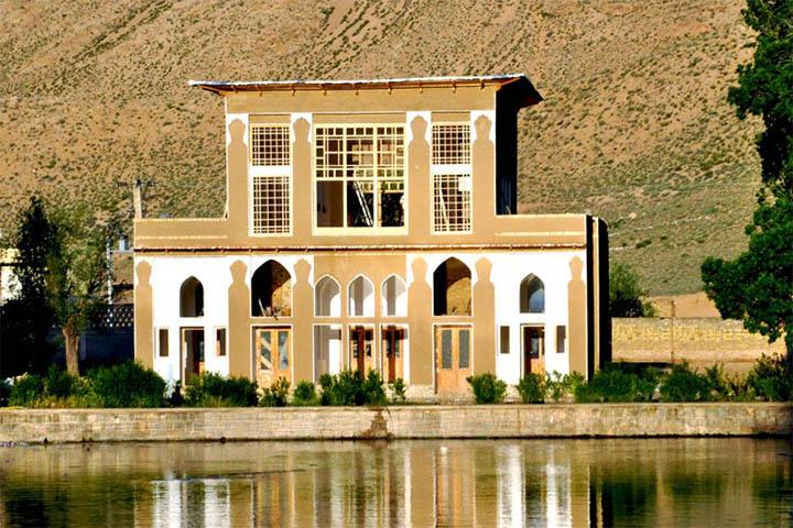 عمارت چشمه علی | جاهای دیدنی سمنان