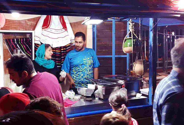 غذاهای خیابانی تهران
