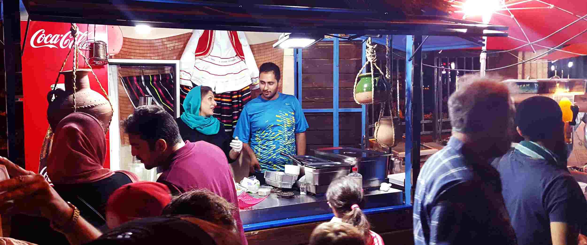 غذاهای خیابانی تهران و شبگردیهای خوشمزه در پایتخت