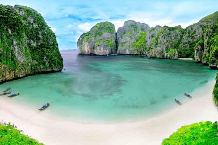 فی فی دان سواحل تایلند