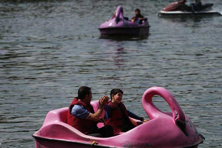 امکانات تفریحی در دریاچه