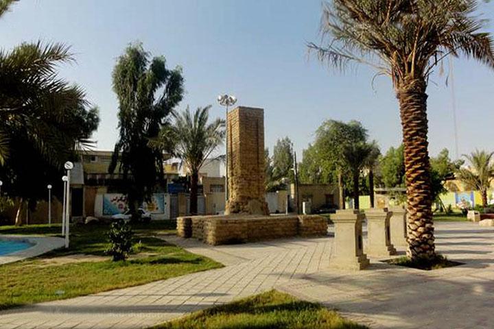 قبر جنرال   جاهای دیدنی بوشهر