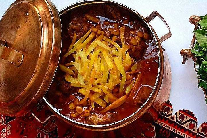 خورشت قیمه | از دیگر غذاهای لذیذ و محبوب ایرانی