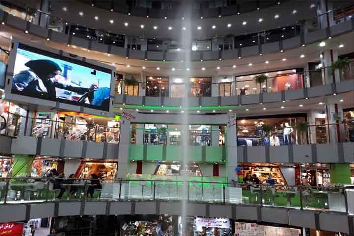 دنیای نور نگین مراکز خرید شرق تهران