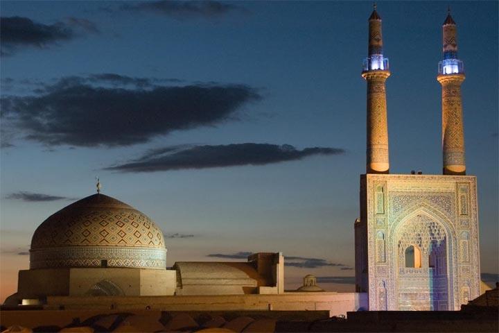 جاهای دیدنی یزد ، شهر دوچرخههای رنگارنگ